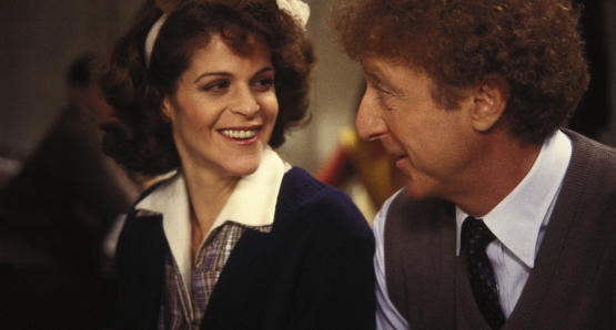 Gene Wilder and Gilda Radner in Haunted Honeymoon