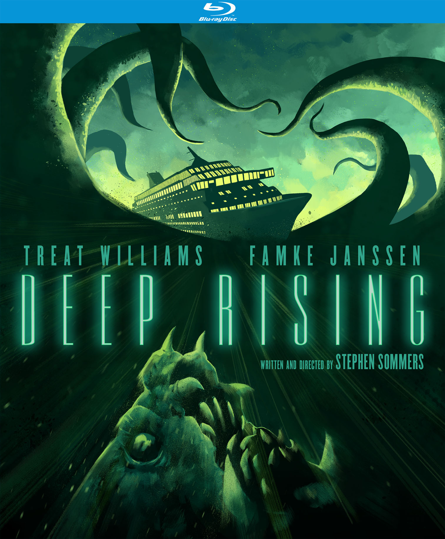 Deep Rising (20th Anniversary Special Edition) (Blu-ray